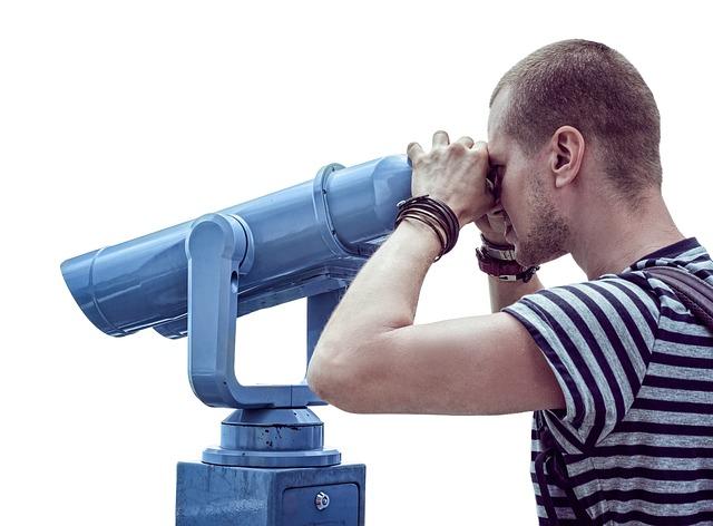 dalekohled a člověk
