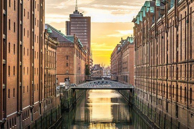 město Hamburk