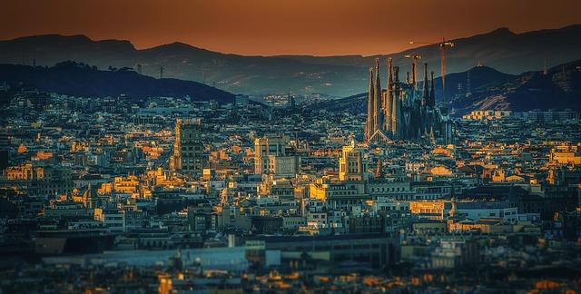 španělská Barcelona