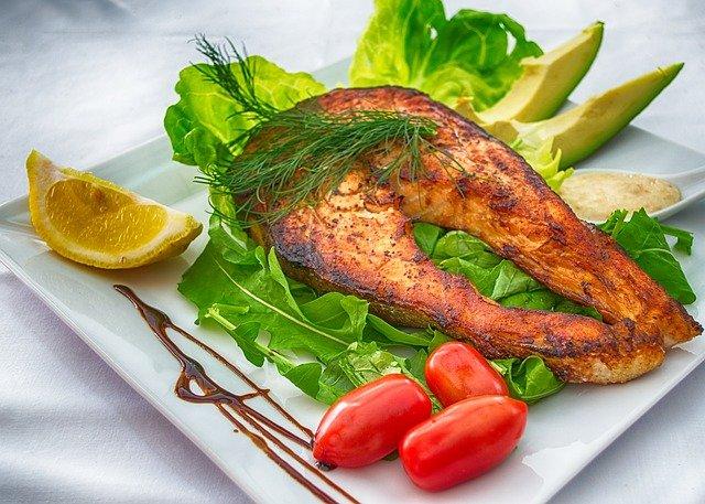 grilovaná ryba