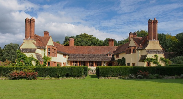 anglický venkovský dům