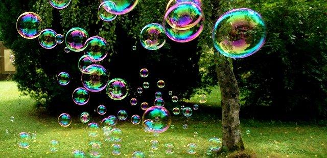 bubliny v parku
