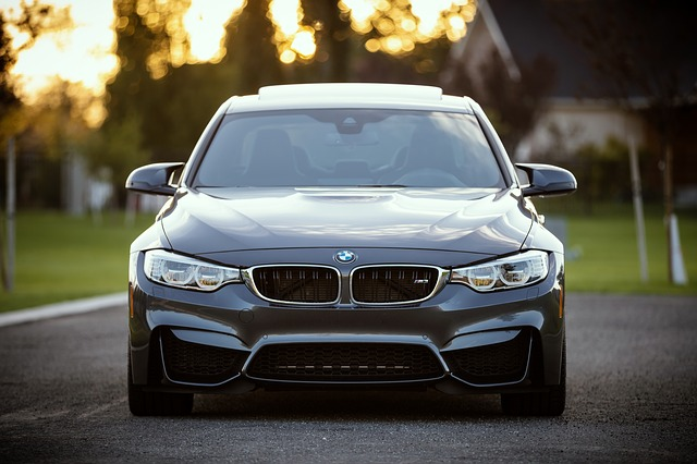 přední světla BMW