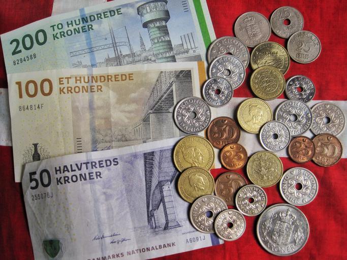 dánské peníze