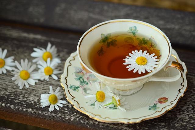 Louhování bylinkového čaje
