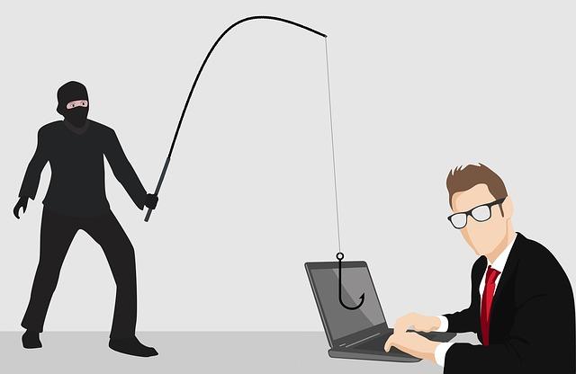 kreslený obrázek zloděje číhajícího na příležitost