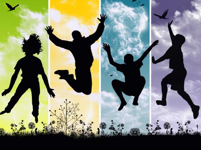 siluety čtyř skákajících postav.jpg