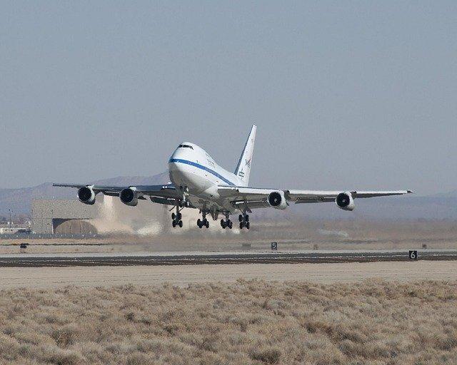 Start Boeingu 747